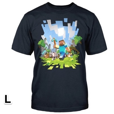 マインクラフト アドベンチャー Tシャツ Lサイズ_0