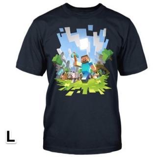 マインクラフト アドベンチャー Tシャツ Lサイズ