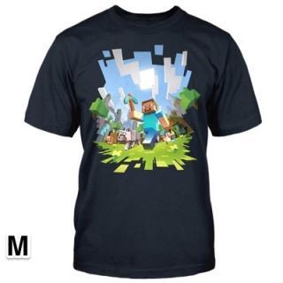 マインクラフト アドベンチャー Tシャツ Mサイズ
