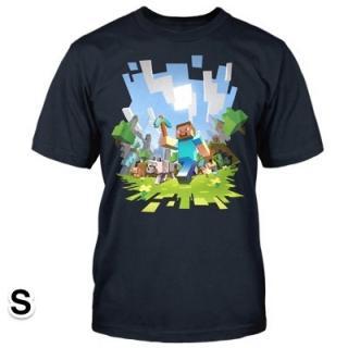 マインクラフト アドベンチャー Tシャツ Sサイズ