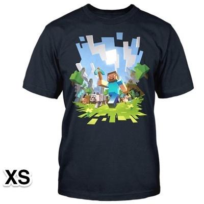 マインクラフト アドベンチャー Tシャツ XSサイズ_0