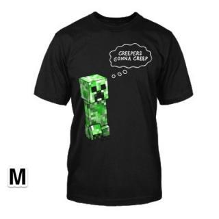 マインクラフト Creepers Gonna Creep Tシャツ Mサイズ