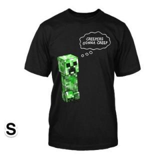 マインクラフト Creepers Gonna Creep Tシャツ Sサイズ