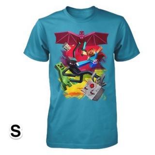 マインクラフト キューブバトル Tシャツ Sサイズ