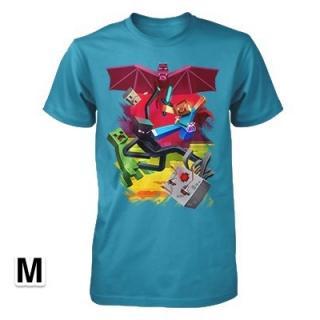 マインクラフト キューブバトル Tシャツ Mサイズ