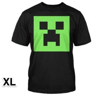 マインクラフト クリーパー 畜光Tシャツ XLサイズ