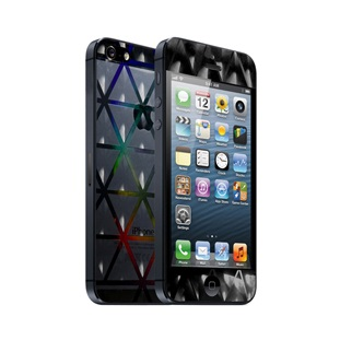 icover デザイナーズフィルム iPhone5用 Prism AS-IP5F-PM