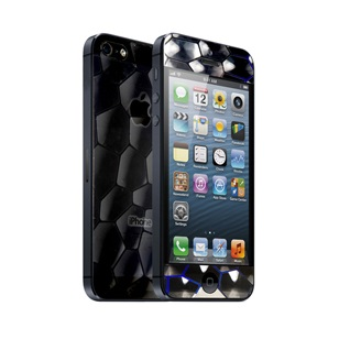 icover デザイナーズフィルム iPhone5用 Honey comb(蜂の巣)  AS-IP5F-HC