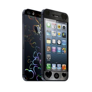 icover デザイナーズフィルム iPhone5用 Heart AS-IP5F-HT