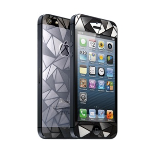 【iPhone SE/5s/5フィルム】icover デザイナーズフィルム iPhone5用 TRIANGLE AS-IP5F-TR_0