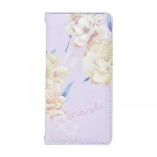 iPhone8/7/6s/6 ケース rienda 全面 手帳型ケース Layer Flower/パープル iPhone 8/7/6s/6