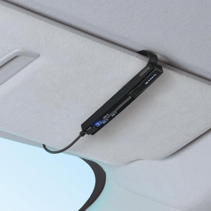 BluetoothカーキットT1F FMトランスミッター付き(ブラック)