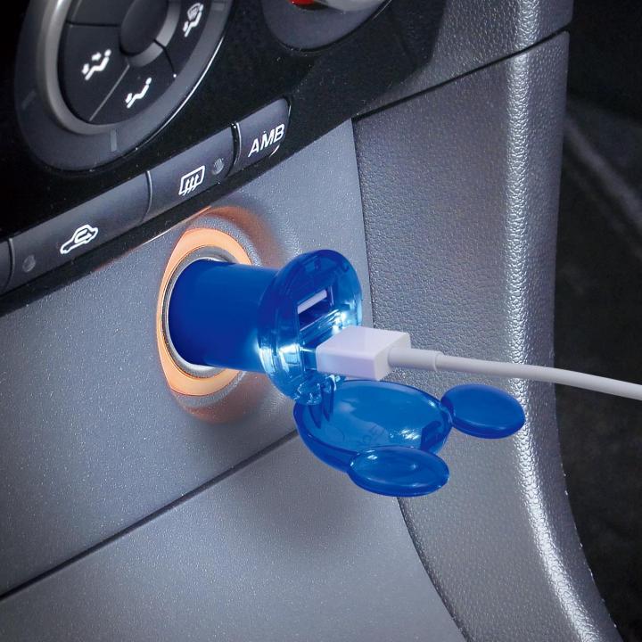 USBソケット MAX2.4A/ミッキーマウス_0