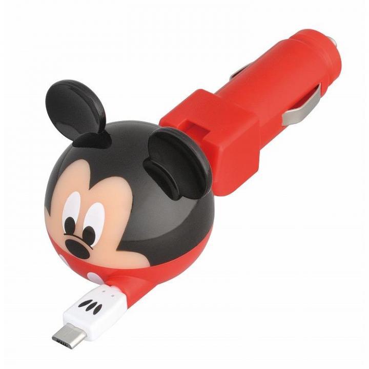 ディズニー デジタルチャージャー microUSB/ミッキーマウス_0