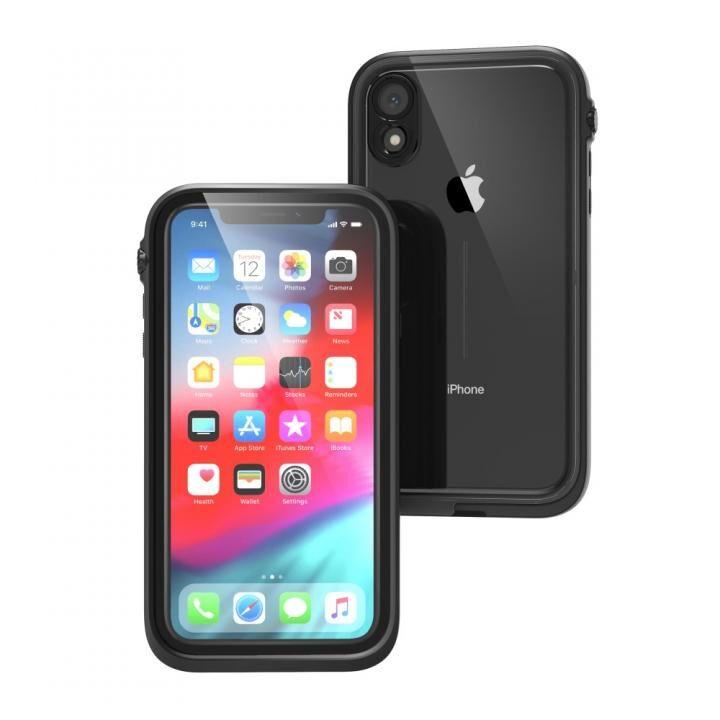 iPhone XR ケース カタリスト iPhone XR 完全防水ケース ブラック_0