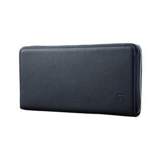 GRAMAS SIENA Singlezip Organizer Wallet Navy【5月上旬】