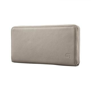 GRAMAS SIENA Singlezip Organizer Wallet Gray