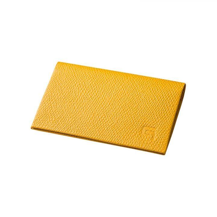 GRAMAS HAAWASE Card Case Yellow×Yellow_0