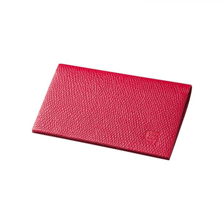 GRAMAS HAAWASE Card Case Red×Red_0