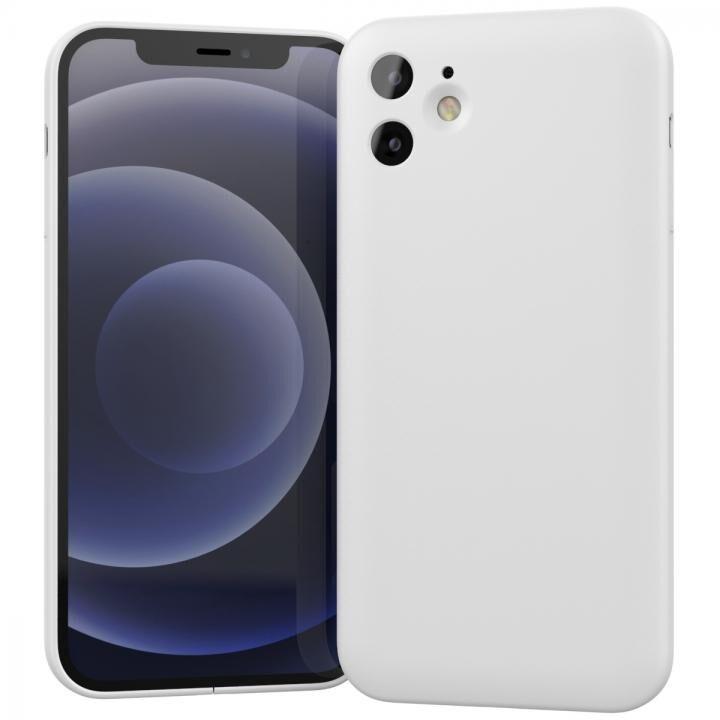 MYNUS CASE マットホワイト iPhone 12_0