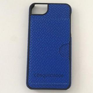 CONQUISTADOR PALMA ケース メッシュネイビー iPhone SE/5s/5