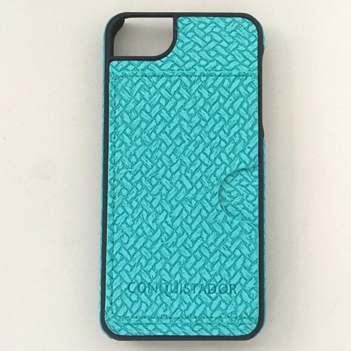 CONQUISTADOR PALMA ケース メッシュグリーン iPhone SE/5s/5