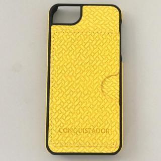 【iPhone SE/5s/5ケース】CONQUISTADOR PALMA ケース メッシュイエロー iPhone SE/5s/5