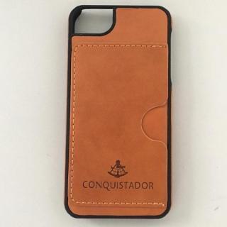 CONQUISTADOR PALMA ケース ブラウン iPhone SE/5s/5