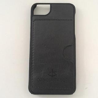 iPhone SE/5s/5 ケース CONQUISTADOR PALMA ケース ブラック iPhone SE/5s/5