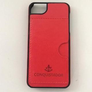CONQUISTADOR PALMA ケース レッド iPhone SE/5s/5