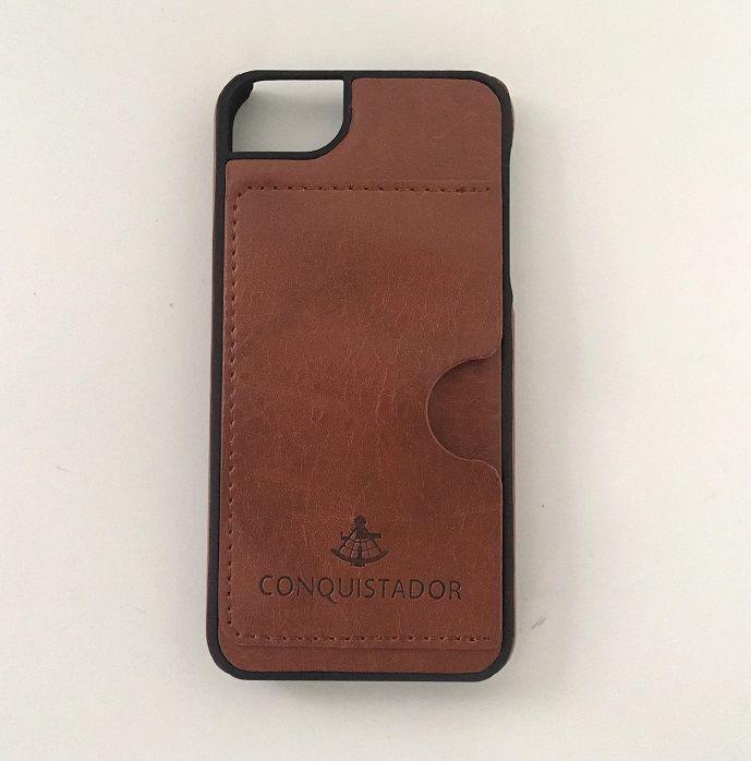 iPhone SE/5s/5 ケース CONQUISTADOR PALMA ケース ダークブラウン iPhone SE/5s/5_0