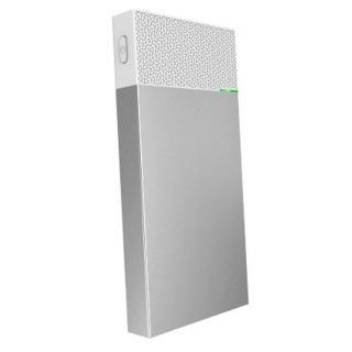 [10000mAh]USB Type-Cケーブルで本体充電可能 モバイルバッテリー シルバー【4月中旬】