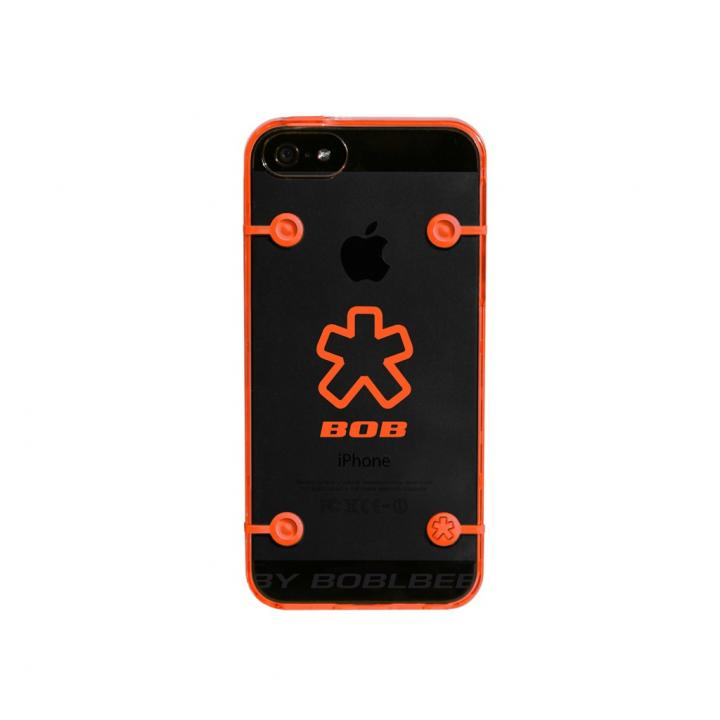 iPhone SE/5s/5 ケース ShockDrop  iPhone 5 Hiviz Orange_0