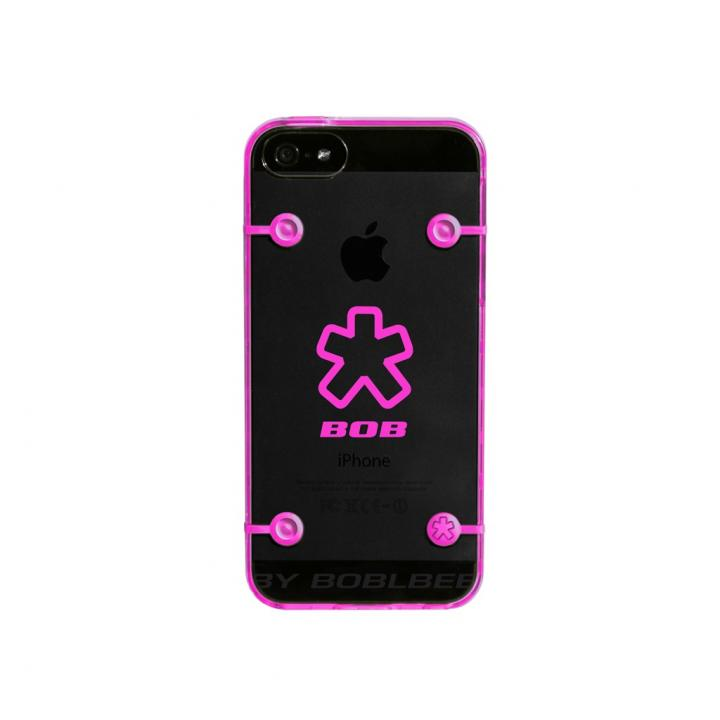 iPhone SE/5s/5 ケース ShockDrop  iPhone 5 Hiviz Pink_0