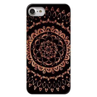【iPhone7ケース】CANVER ウッドカービングケース 曼荼羅 iPhone 7