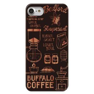 CANVER ウッドカービングケース コーヒー iPhone 7