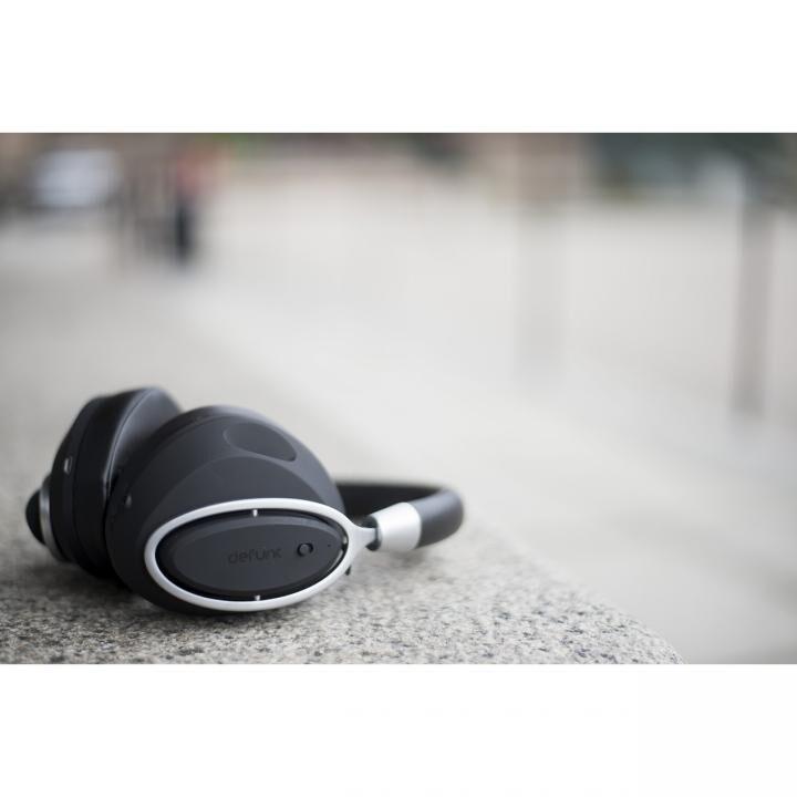 DeFunc BT MUTE Headphone PLUS ワイヤレスヘッドホン ブラック_0