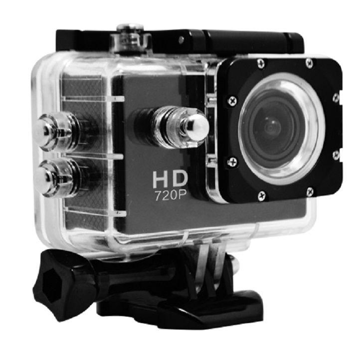 [8月特価]2.0型液晶搭載、画角120°HDアクションカメラ