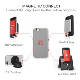 【iPhone6ケース】Anker Zolo マグネット耐衝撃ケース グレイ iPhone 6_1
