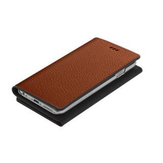 【iPhone6ケース】お財布付き手帳型ケース araree Z-folder ブラウン+ブラック iPhone 6_1