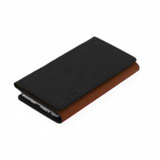 【iPhone6ケース】お財布付き手帳型ケース araree Z-folder ブラウン+ブラック iPhone 6_2