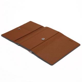 【iPhone6ケース】お財布付き手帳型ケース araree Z-folder ブラウン+ブラック iPhone 6_3