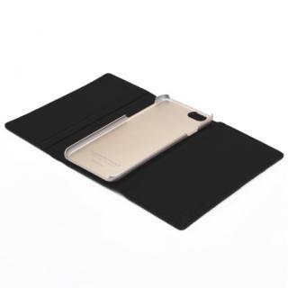 【iPhone6ケース】お財布付き手帳型ケース araree Z-folder ブラウン+ブラック iPhone 6_4