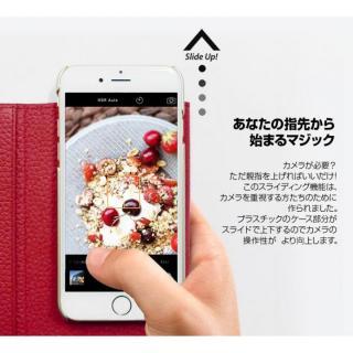 【iPhone6ケース】お財布付き手帳型ケース araree Z-folder ブラウン+ブラック iPhone 6_6
