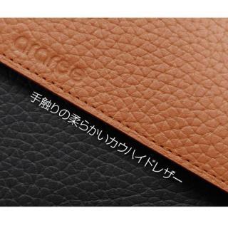 【iPhone6ケース】お財布付き手帳型ケース araree Z-folder ブラウン+ブラック iPhone 6_7