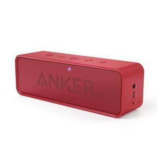 Anker SoundCore Bluetoothスピーカー ポータブル レッド