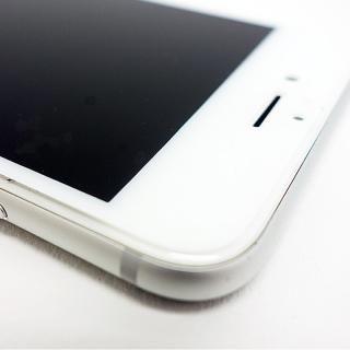 【iPhone8 Plus/7 Plusフィルム】A+ 液晶全面保護強化ガラスフィルム さらさらタイプ ホワイト 0.22mm for iPhone 8 Plus/7 Plus_4