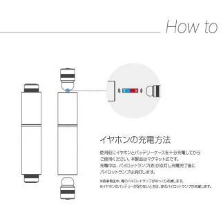 超小型・完全ワイヤレスイヤホン Beat-in Stick スペースグレー_4