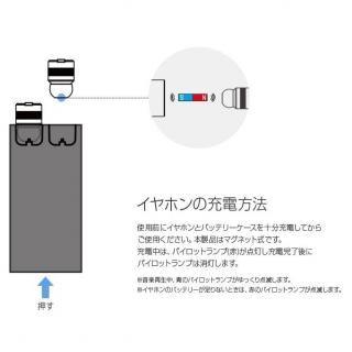 超小型・完全ワイヤレスイヤホン Beat-in Power Bank ローズゴールド_3