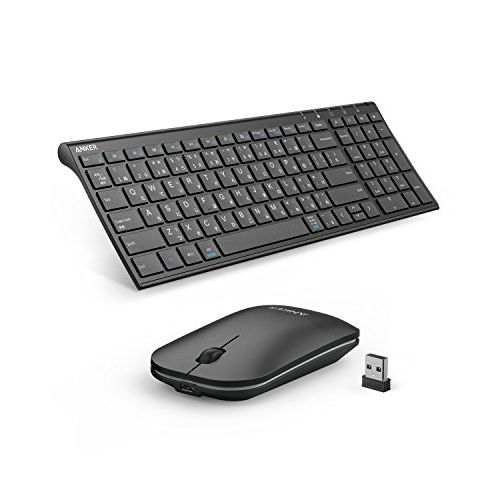 Anker 2.4GHz ワイヤレスキーボード & マウスセット_0